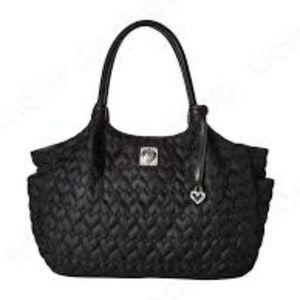 Brighton Kami Carryall Heart To Heart Bag Black